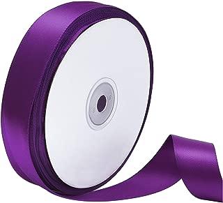 dark purple satin ribbon