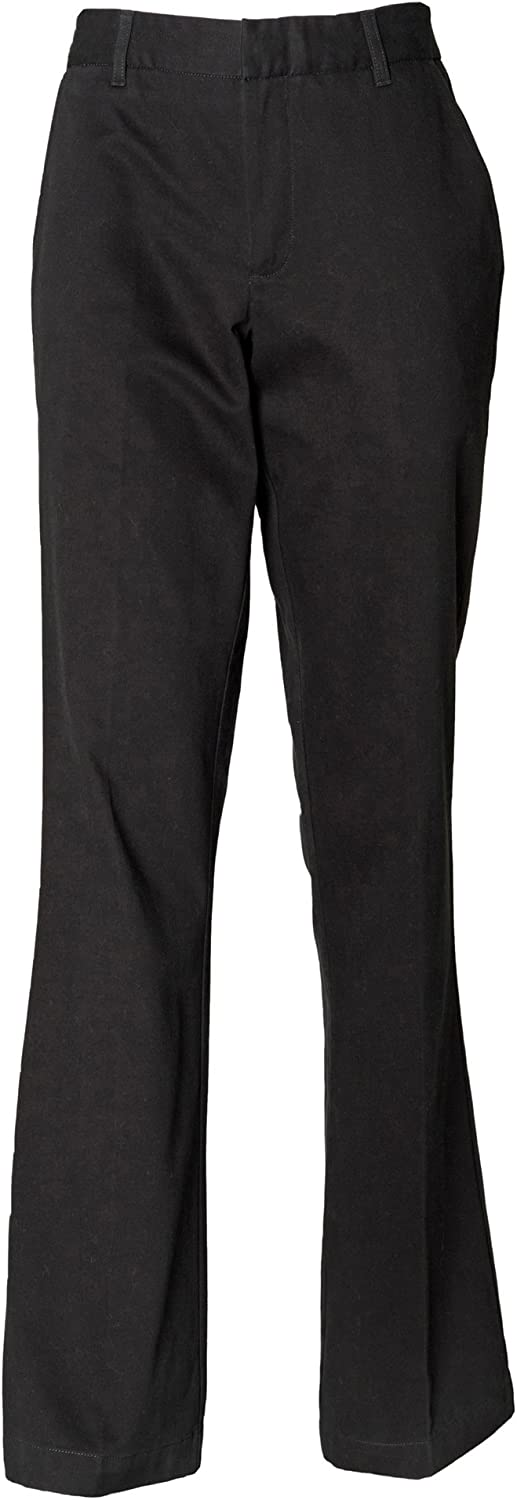 Henbury Ladies/Womens Teflon Stain Resistant Coated Flat Front Workwear Trouser
