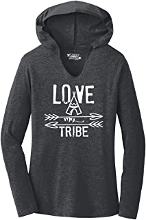 Comical Shirt Ladies Love My Tribe Mother Father Gift Tee Hoodie Shirt