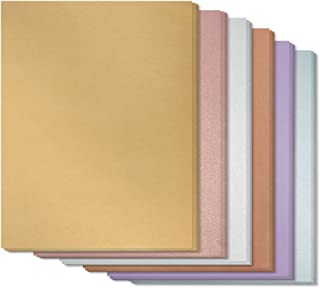 Best Paper Greetings 48-Pack Assorted Colored Paper, 6 Colors, 8.5 x 11 Inches