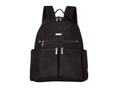 Baggallini Here and There Laptop Backpack (Black) Backpack Bags