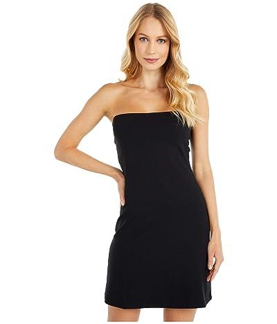 Susana Monaco Strapless A-Line Tube Dress (Black) Women