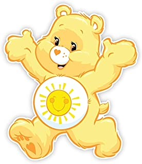 Funshine Care Bear Iron On Transfer for T-Shirts & Other Light and Dark Color Fabrics #11 Divine Bovinity