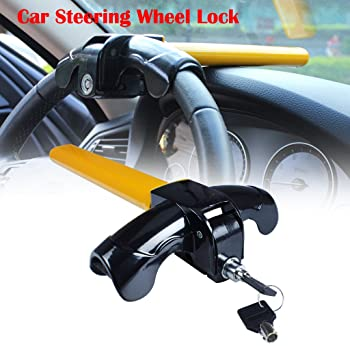 Universal Auto Car Anti-Theft Security Rotary Steering Wheel Lock Devices Best