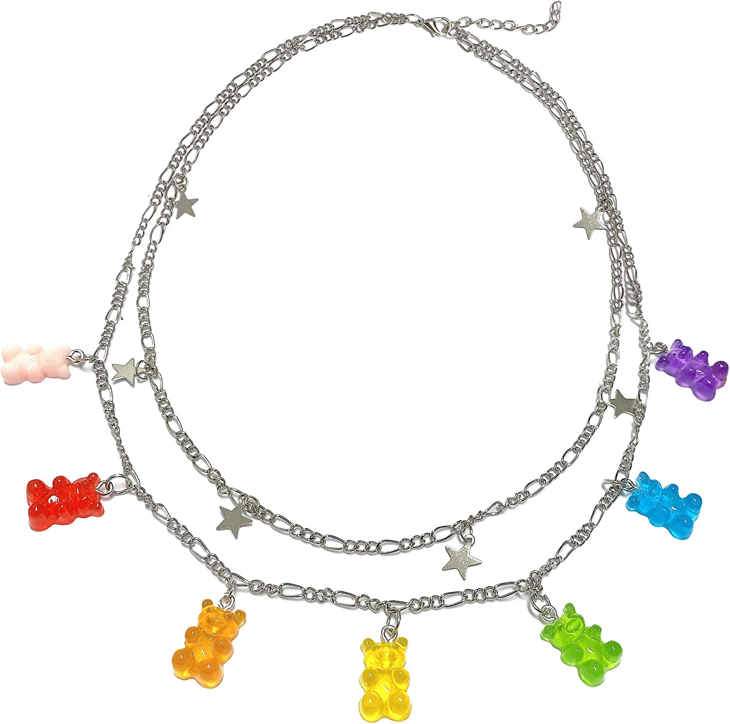 35% OFF yfstyle Layered Lock Necklace Choker Punk Max 80% OFF Chain