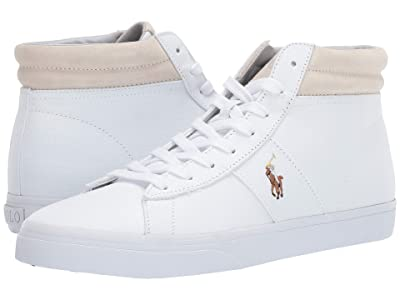 Polo Ralph Lauren Shaw (White Canvas) Men