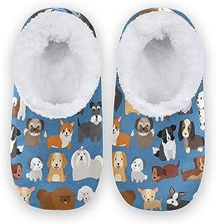 Naanle Pantoufles confortables en mousse à mémoire de forme pour intérieur ou extérieur avec semelle en caoutchouc antidér...
