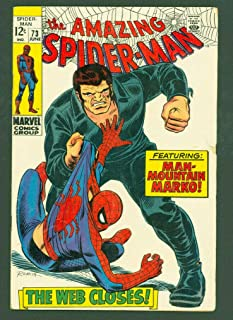 Amazing Spiderman 73 Fine/VF 1st Silvermane Marvel Comics John Romita