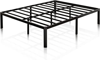 Zinus Van 16 Inch Metal Platform Bed Frame with Steel Slat Support / Mattress Foundation,