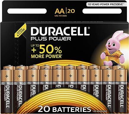 Duracell Plus Power Alkaline AA Batterien, 20er Pack