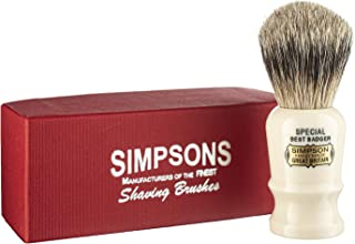 Special S1 Best Badger Shave Brush 90mm Shave Brush by Simpson