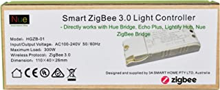 110-240V Smart ZigBee 3.0 Light Switch Controller Compatible with Echo Plus and Common Zigbee Bridge Hub to Control Normal Lights, Home Automation and Voice Control