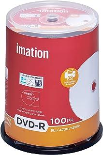 imation イメーション 1回録画用 CPRM対応 DVD-R 120分 IM032 (片面1層/1-16倍速/100枚)