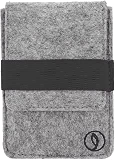 Leef Felt Minimalist Wallet and Card Holder - RFID Blocking, Ultra-Light and Slim, For Men and Women, Fits All Currency Sizes