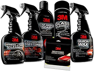 3M 39122 1 Pack Premium Car Care Kit