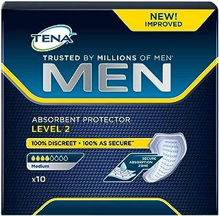 TENA Men Protector Absorbente Nivel 2, Compresas - 60 Unidades