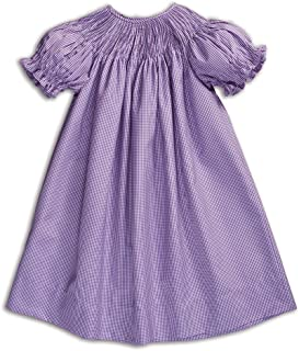 Rosalina Girl's Ready-to-Smock Gingham Dress