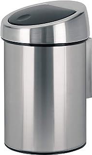 BRABANTIA 378645 Poubelle design Touch bin 3 L Acier mat