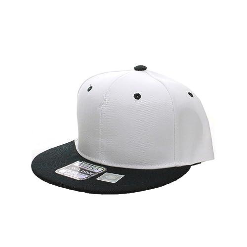 573ab5c8d10 L.O.G.A. Plain Adjustable Snapback Hats Caps Flat Bill Visor