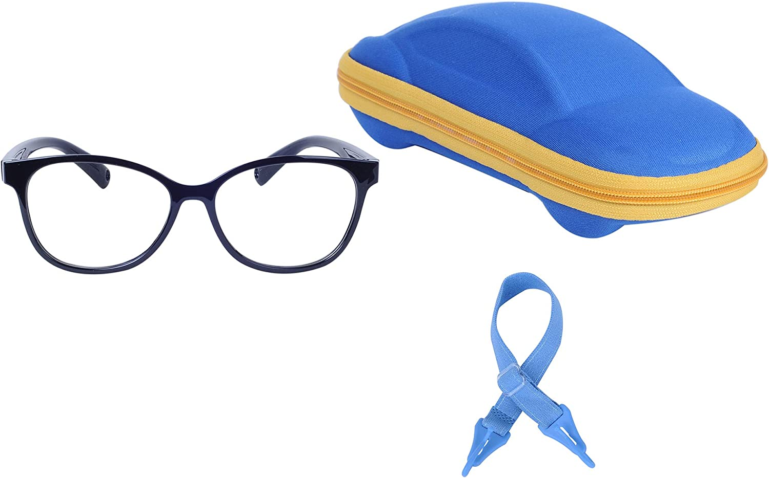 Kids Blue Light Blocking Latest item Glasses 4 years warranty with Boys Adjustable Girls for