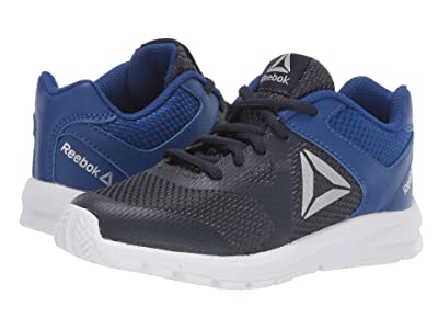Reebok Kids Rush Runner (Little Kid/Big Kid) (Navy/Blue/Silver) Boys Shoes