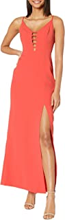 Women's Strappy Caged Gown