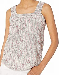 Lucky Brand womens SQUARE NECK TANK TOP Shirt