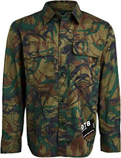 Diesel Men's S-Jessy-Des Camicia Shirt