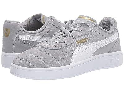 Puma Kids Astro Kick Slip-On (Little Kid) (High-Rise/PUMA White/PUMA Team Gold) Boys Shoes
