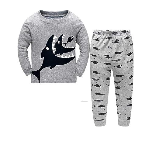 Little Hand Toddle Boys Pjs Dinosaur Pyjamas Set Boys Winter Nightwear Kids  Pyjama Long Sleeve Sleepwear dfcf1cb46