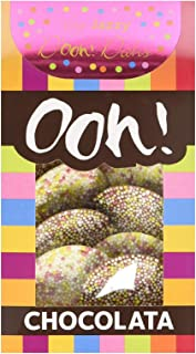 Ooh! Chocolata Very Jazzy D'ooh! Dahs Milk & White Chocolate Discs (1 Pack)
