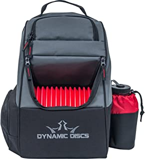 Dynamic Discs Trooper Disc Golf Bag - Fits Up to 18+ Discs and Four Putters – Introductory Disc Golf Backpack - Lightweight and Durable