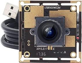 SVPRO 5 MP USB Camera Module Wide Angle MJPEG USB Webcam Camera HD Image Sensor 2592X1944 CMOS OV5640 Free Driver Mac Linux Android Windows USB Machine Vision Camera Board Support UVC Web Cams