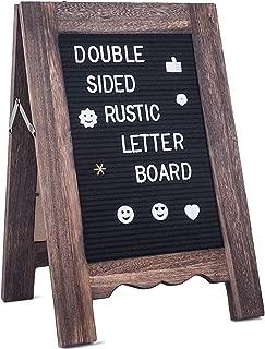 Rustic Felt Letter Board 11
