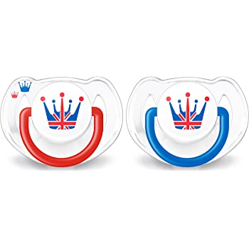Red Philips AVENT Limited Edition GB Soother Pack Of 2 6-18 Months