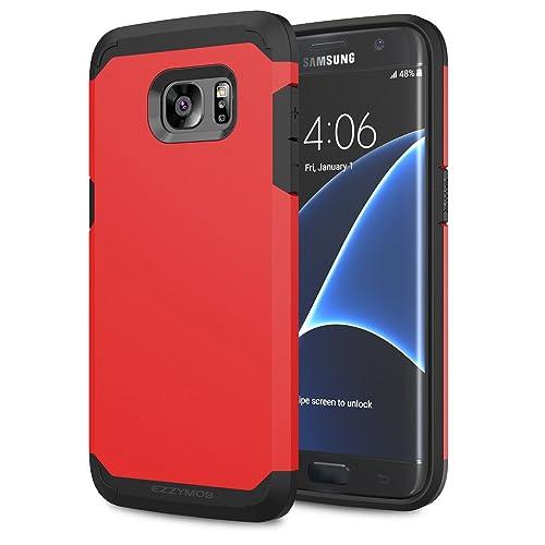 new product 5c8f8 69e5e Red S7 Edge: Amazon.co.uk