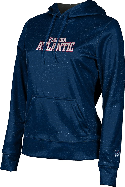 Florida Atlantic University Girls' Pullover Hoodie, School Spirit Sweatshirt (Heathered)
