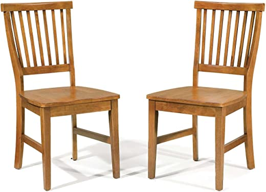 B002PNHC24✅Arts and Crafts Cottage Oak Dining Chair by Home Styles