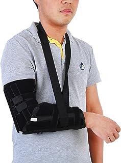 Eslinga de brazo, inmovilizador de hombro, soporte de brazo ajustable, eslingas de antebrazo para esguince de muñeca para ...