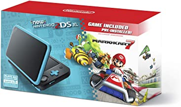 $172 » New Nintendo 2DS XL - Black + Turquoise With Mario Kart 7 Pre-installed - Nintendo 2DS (Renewed)
