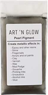 Mica Pearl Pigment Powder (Gunmetal Gray) - (.88 Ounce/25 Grams) - 10+ Colors Available