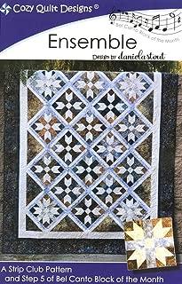 Ensemble Quilt Pattern by Daniela Stout - Cozy Quilt Designs