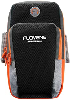 FLOVEME Sport armband, for iPhone 7 6S Plus XS Max XR Universal Running Bag for Samsung S9 Plus Mobile Phone arm Band Pouc...