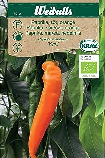 Weibulls Paprika söt,orange KRAV Kyra, spetspaprika