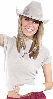 Inc - White Cowboy Hat