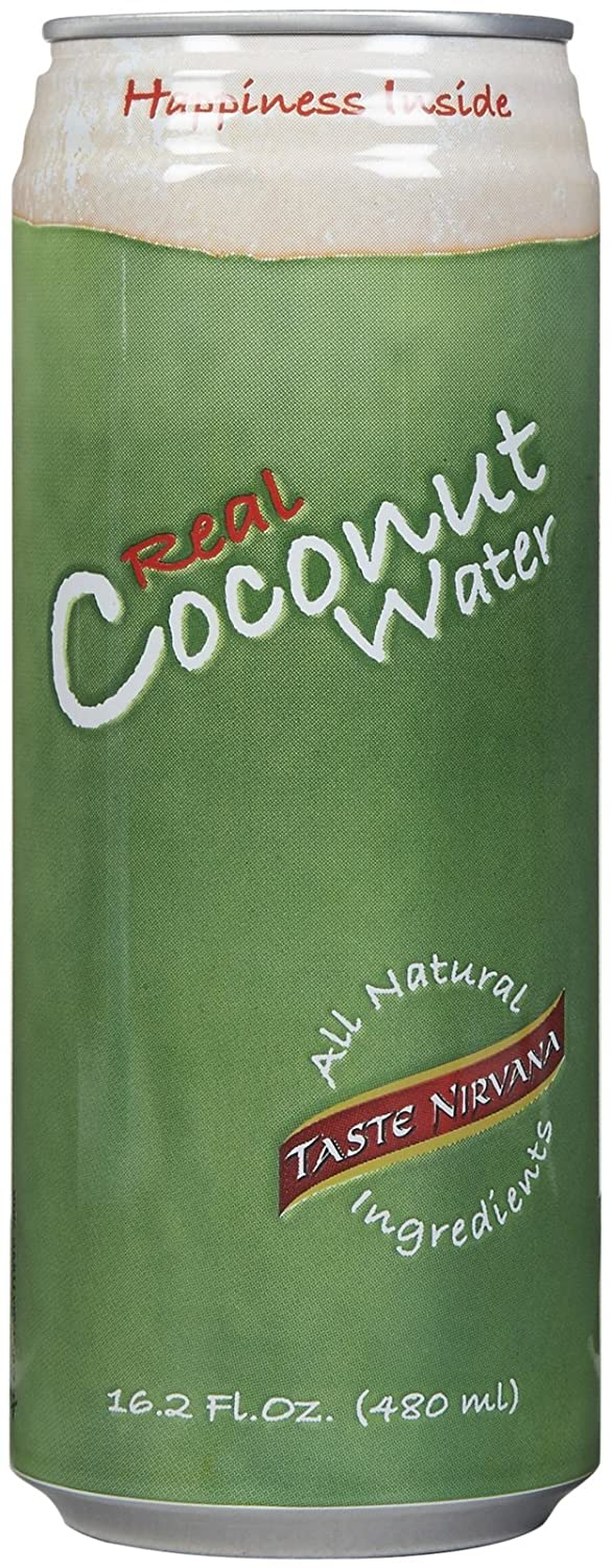 Taste Nirvana Real Coconut Water pk 16.2 oz Challenge the New Orleans Mall lowest price 12