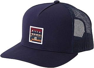 Billabong Men's Stacked Trucker Hat Blue One Size Size