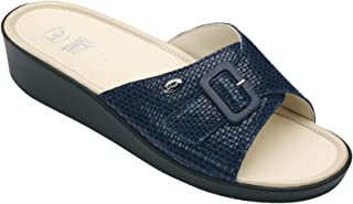 Scholl sandali da donna Mango numero 42 blu navy con soletta in memory foam