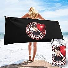 Shenhuakal Quick Dry Towel BTS JIN Property Premium Bath Towels Lightweight Washcloth for Beach