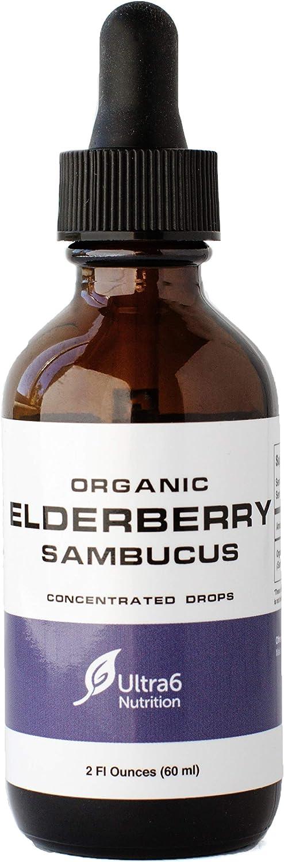 Organic gift Elderberry Syrup Sambucol Kid Black for Drops Max 75% OFF